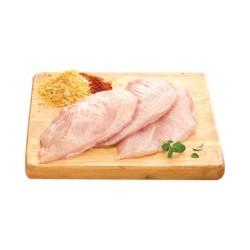 Schnitzel filet de poulet tranchée bovini